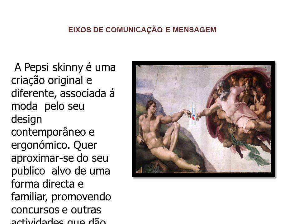 EIXOS DE COMUNICAÇÃO E MENSAGEM