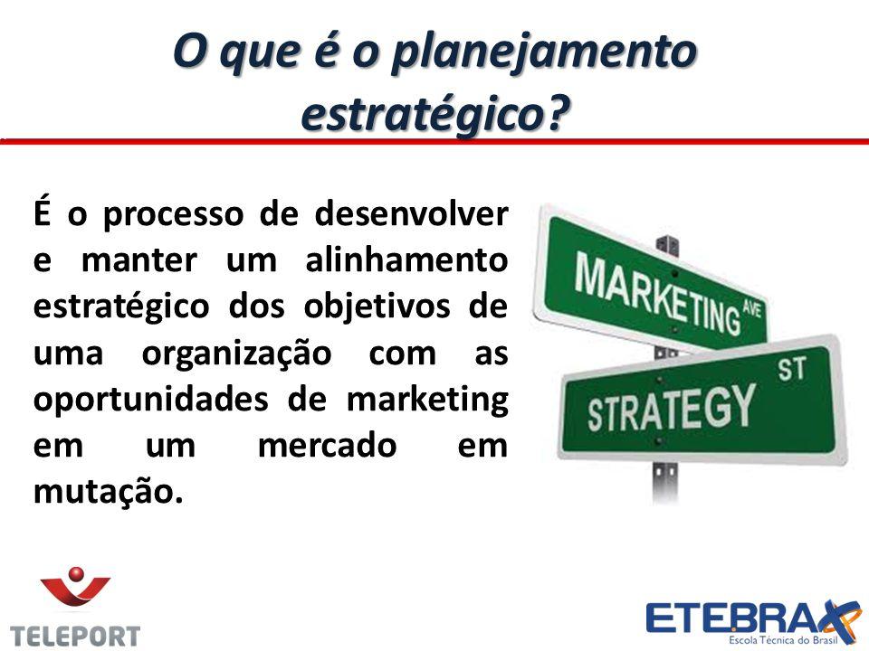 O que é o planejamento estratégico