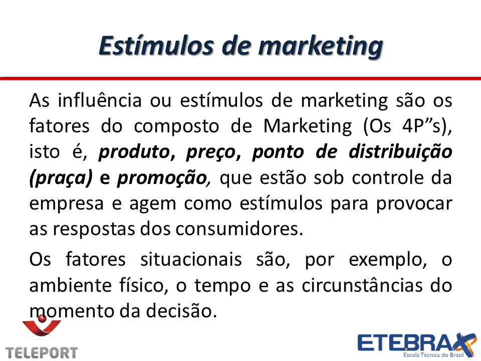 Estímulos de marketing