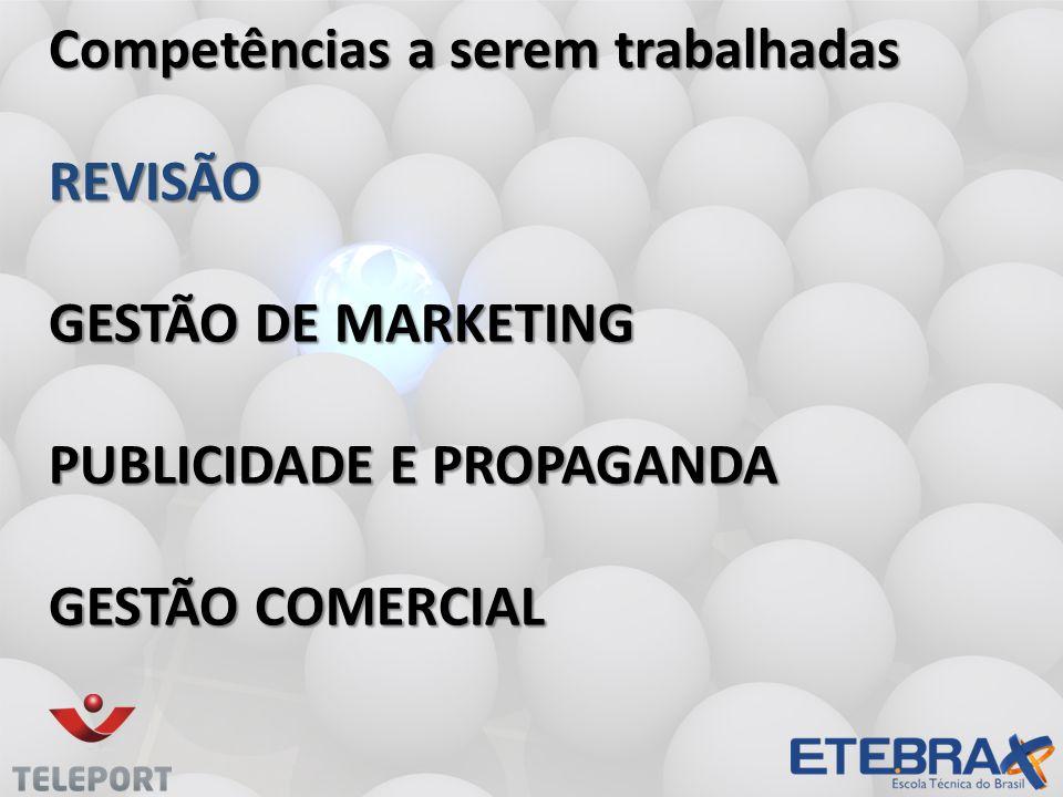 REVISÃO Gestão de Marketing publicidade e propaganda gestão comercial
