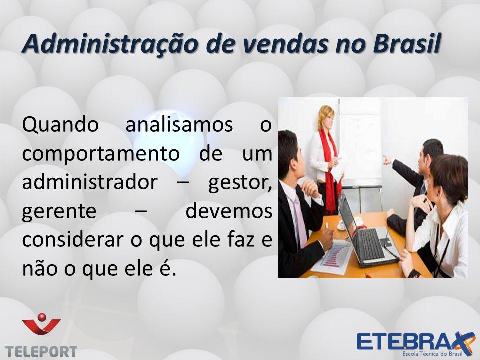 Administração de vendas no Brasil