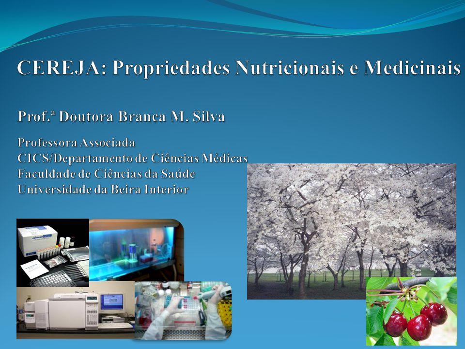 CEREJA: Propriedades Nutricionais e Medicinais