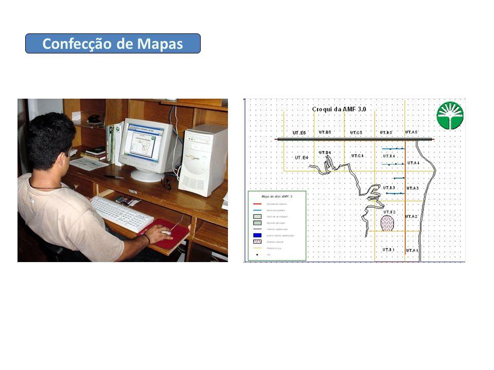 Confecção de Mapas