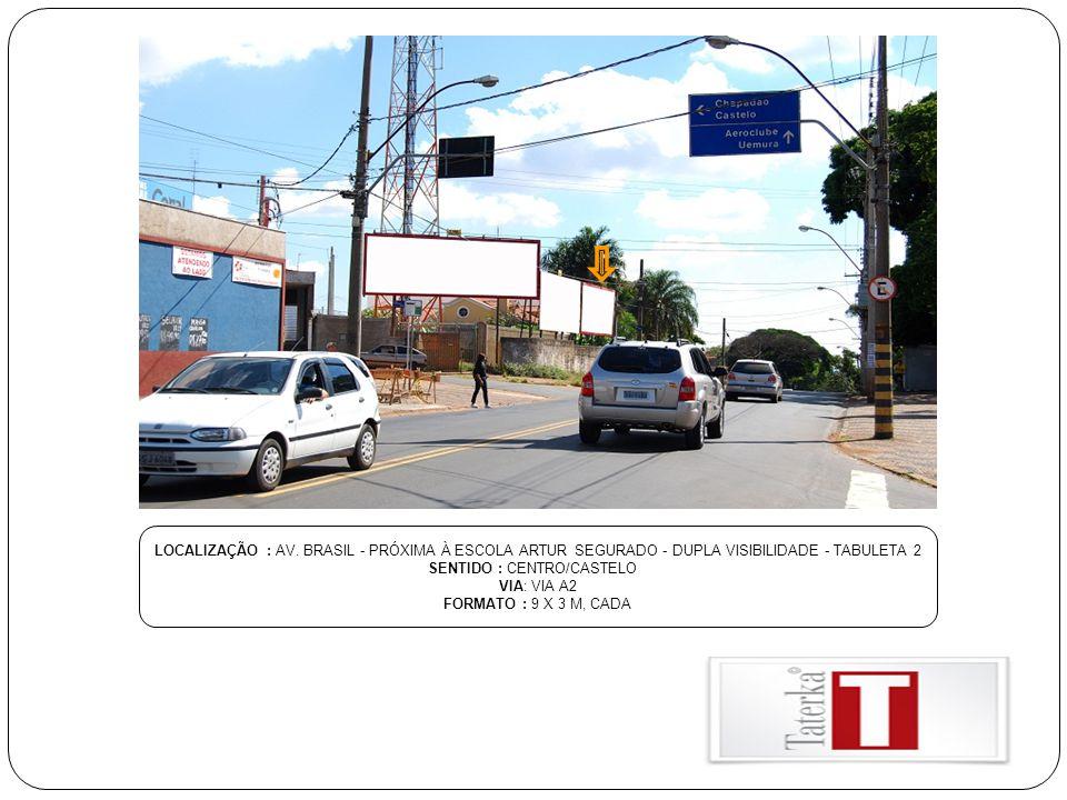 SENTIDO : CENTRO/CASTELO