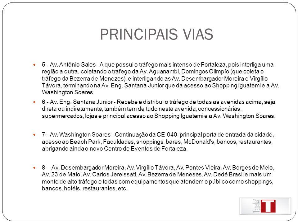 PRINCIPAIS VIAS