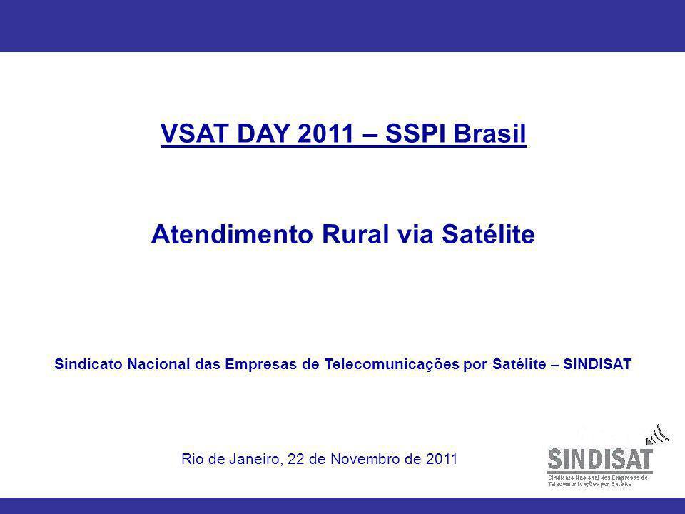 Atendimento Rural via Satélite