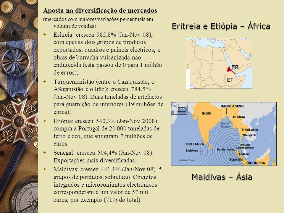 Eritreia e Etiópia – África