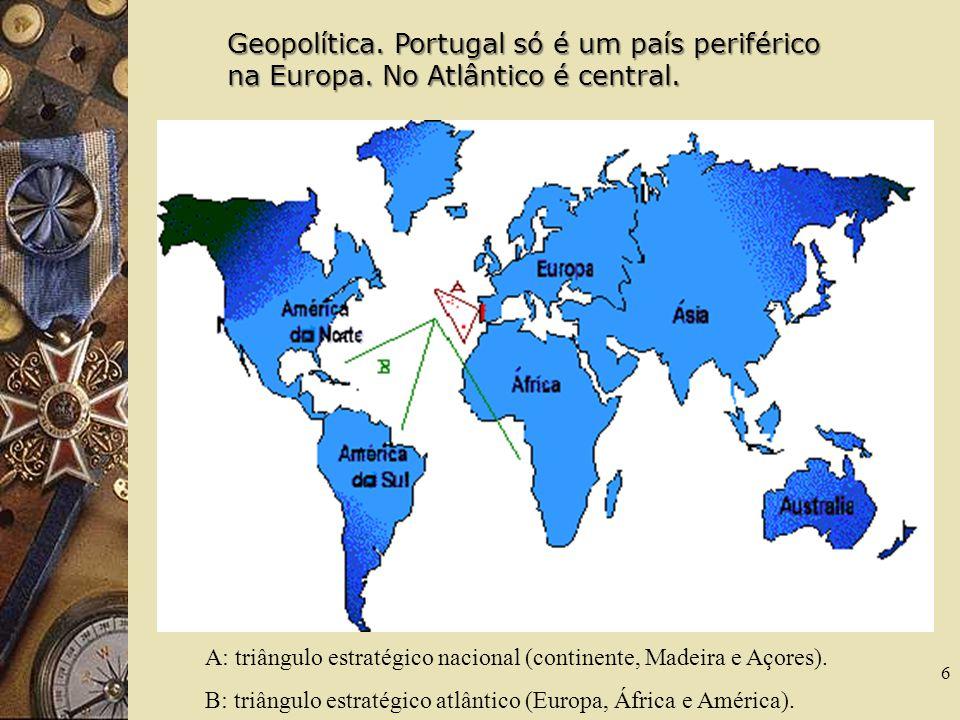 Geopolítica. Portugal só é um país periférico na Europa
