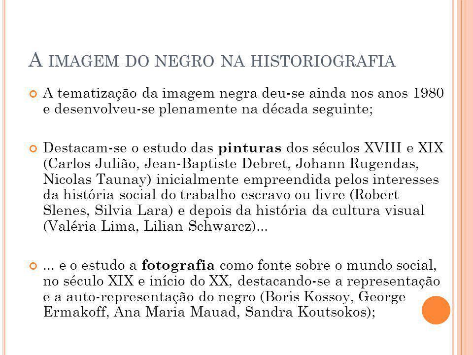 A imagem do negro na historiografia