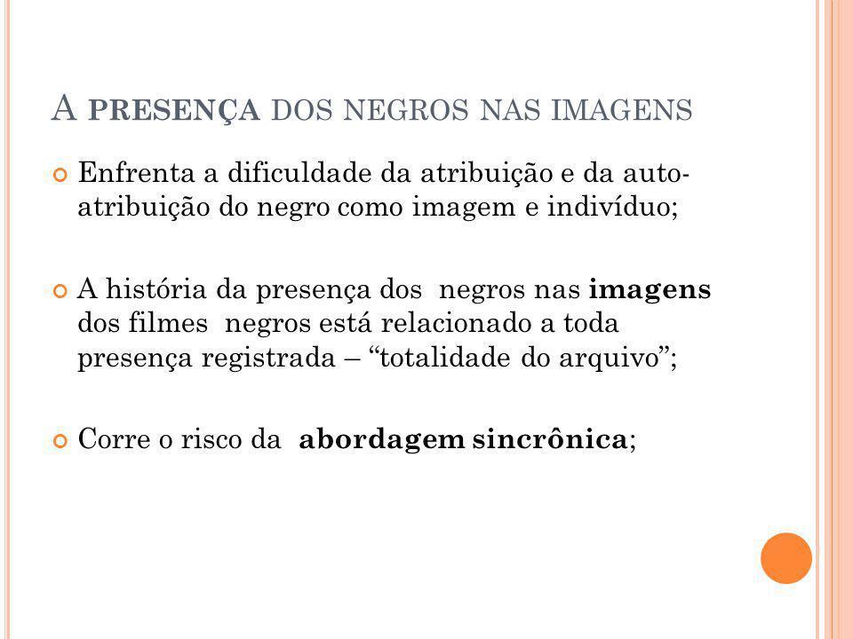 A presença dos negros nas imagens