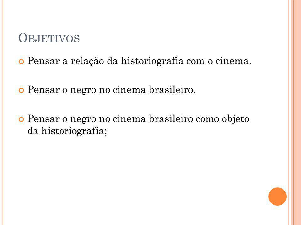 Objetivos Pensar a relação da historiografia com o cinema.