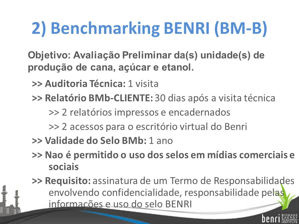 2) Benchmarking BENRI (BM-B)