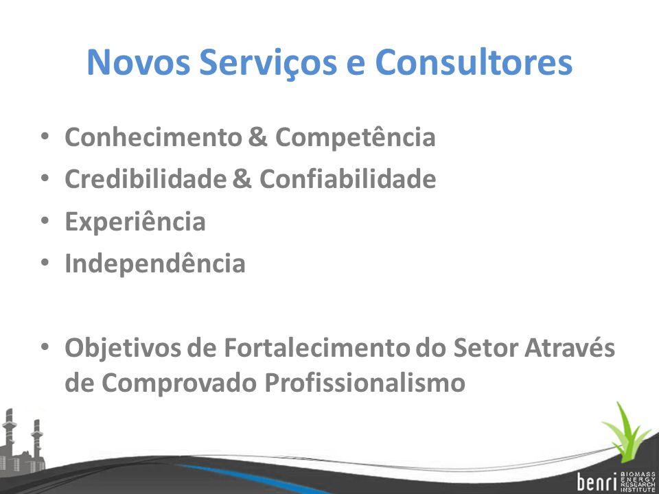 Novos Serviços e Consultores