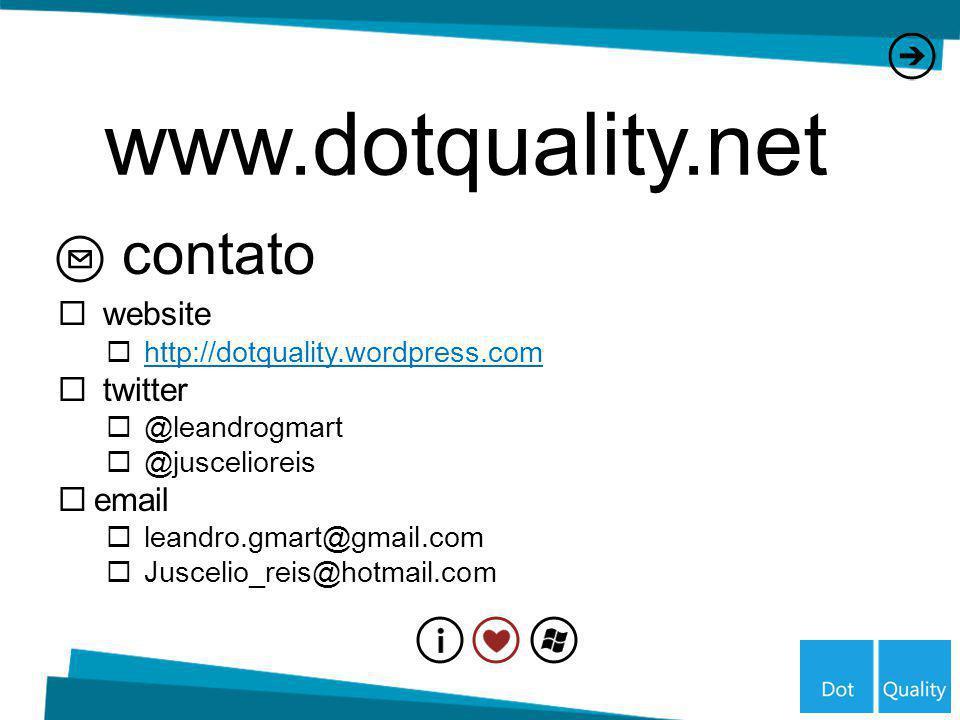www.dotquality.net contato website twitter email