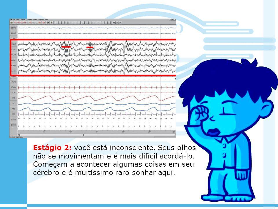 Estágio 2: você está inconsciente