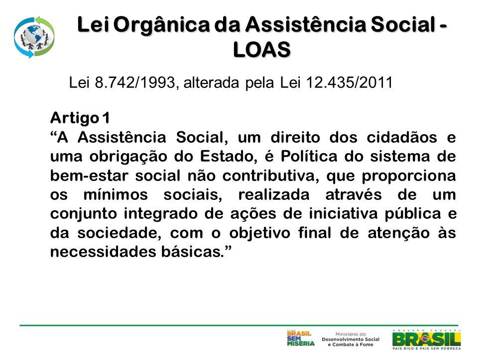 Lei Orgânica da Assistência Social - LOAS