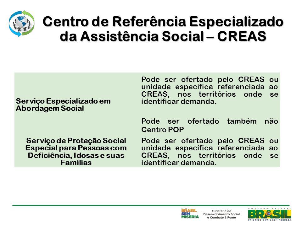 Centro de Referência Especializado da Assistência Social – CREAS