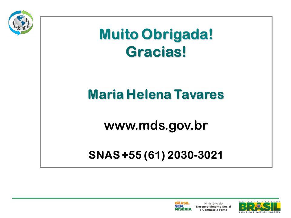 Maria Helena Tavares www.mds.gov.br SNAS +55 (61) 2030-3021