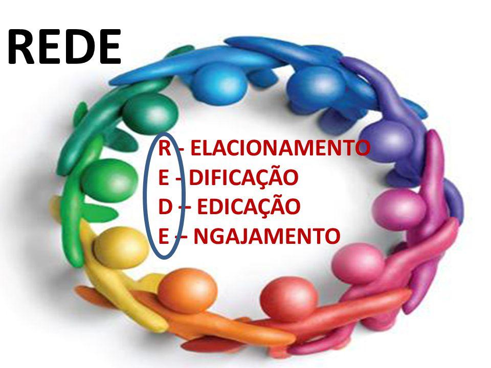 REDE R - ELACIONAMENTO E - DIFICAÇÃO D – EDICAÇÃO E – NGAJAMENTO