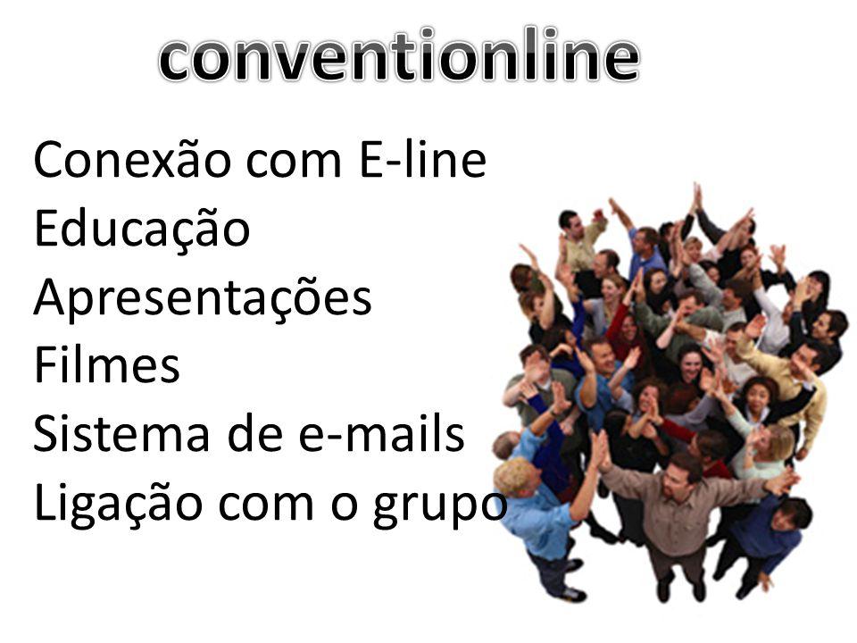 conventionline Conexão com E-line Educação Apresentações Filmes