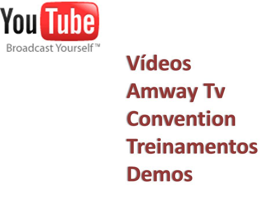 Vídeos Amway Tv Convention Treinamentos Demos