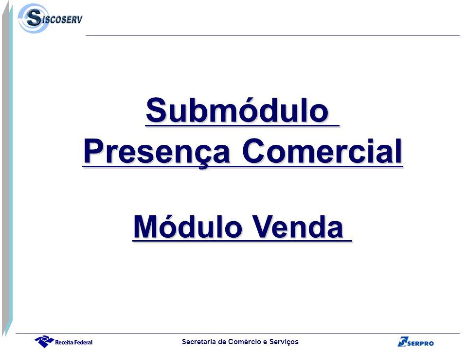 Submódulo Presença Comercial