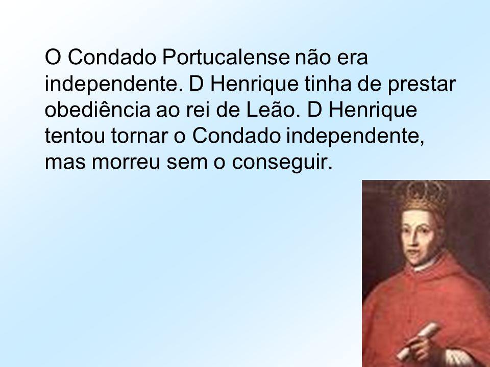 O Condado Portucalense não era independente