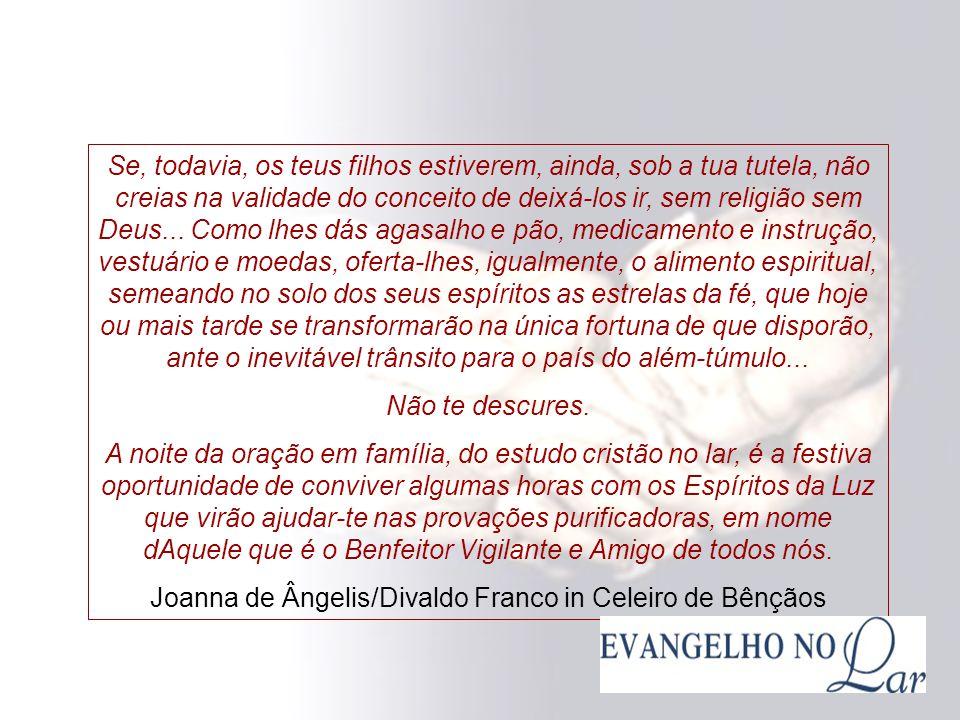 Joanna de Ângelis/Divaldo Franco in Celeiro de Bênçãos