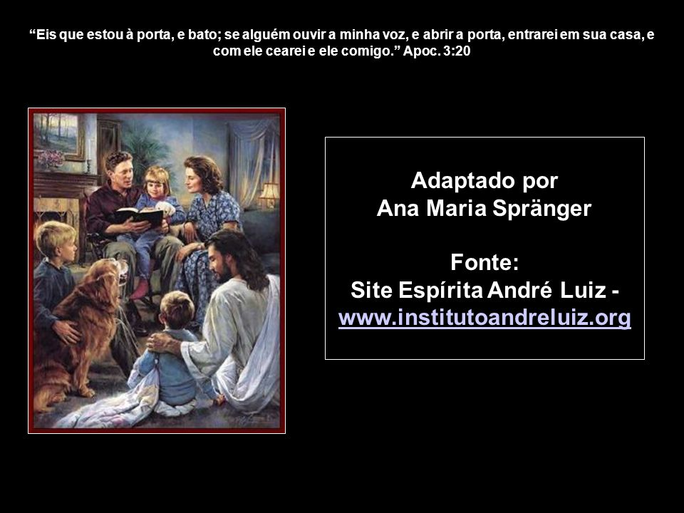 Site Espírita André Luiz - www.institutoandreluiz.org