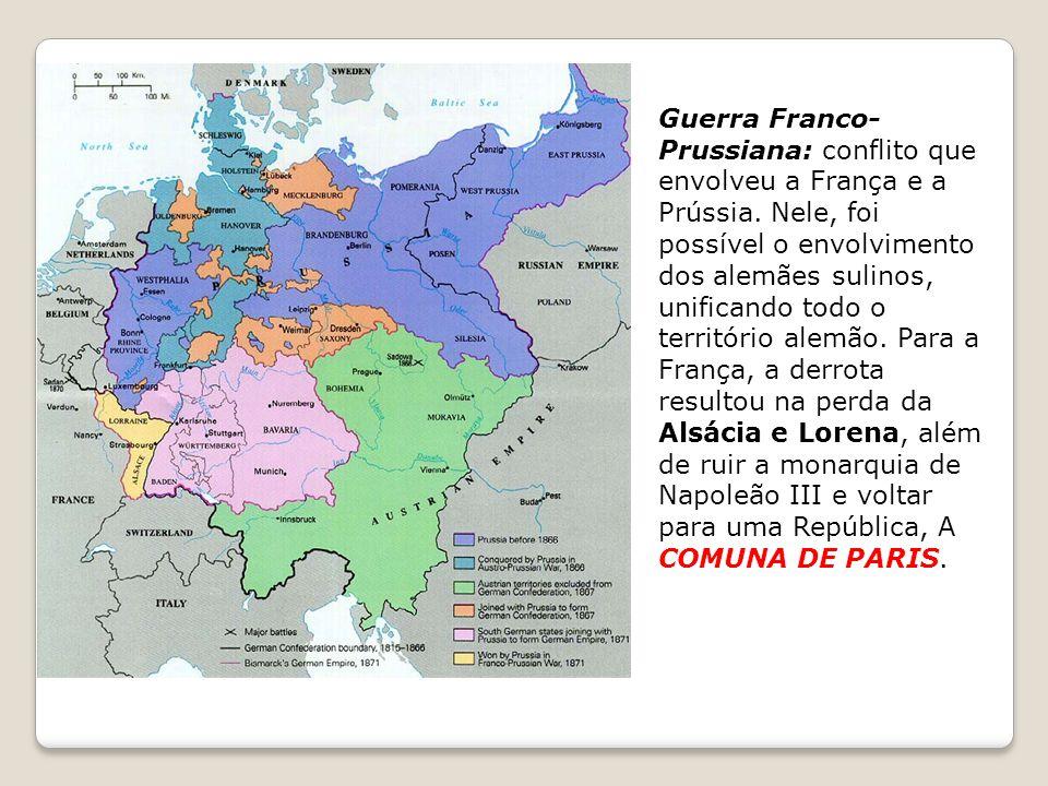 Guerra Franco-Prussiana: conflito que envolveu a França e a Prússia