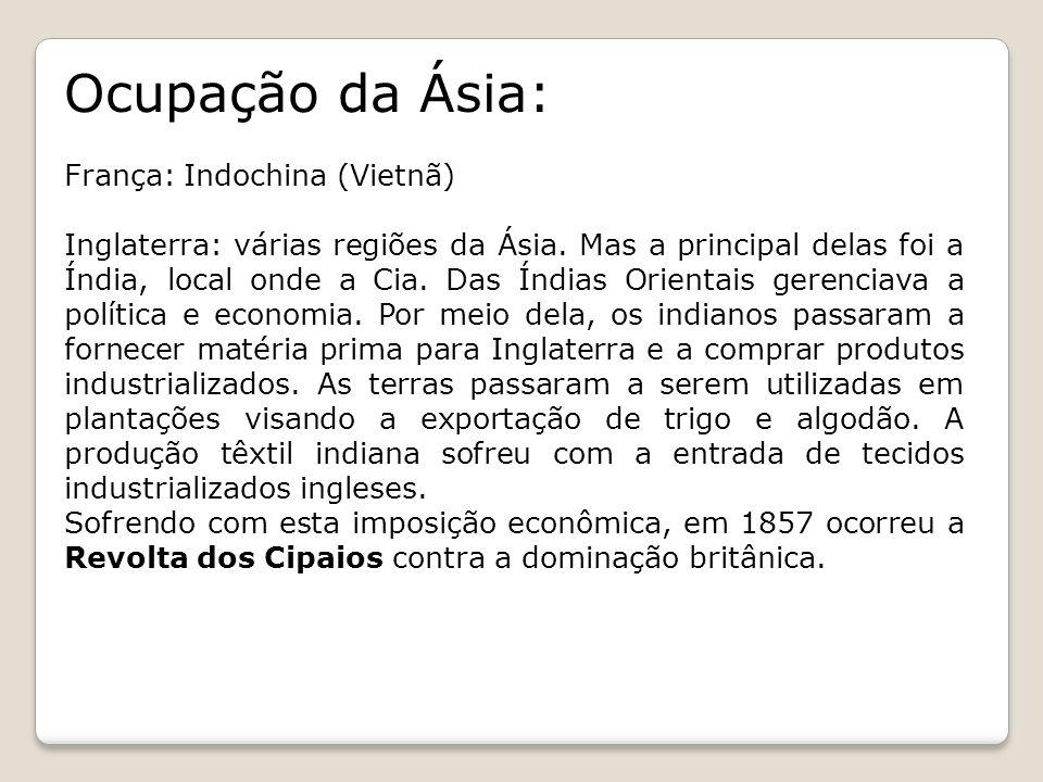 Ocupação da Ásia: França: Indochina (Vietnã)