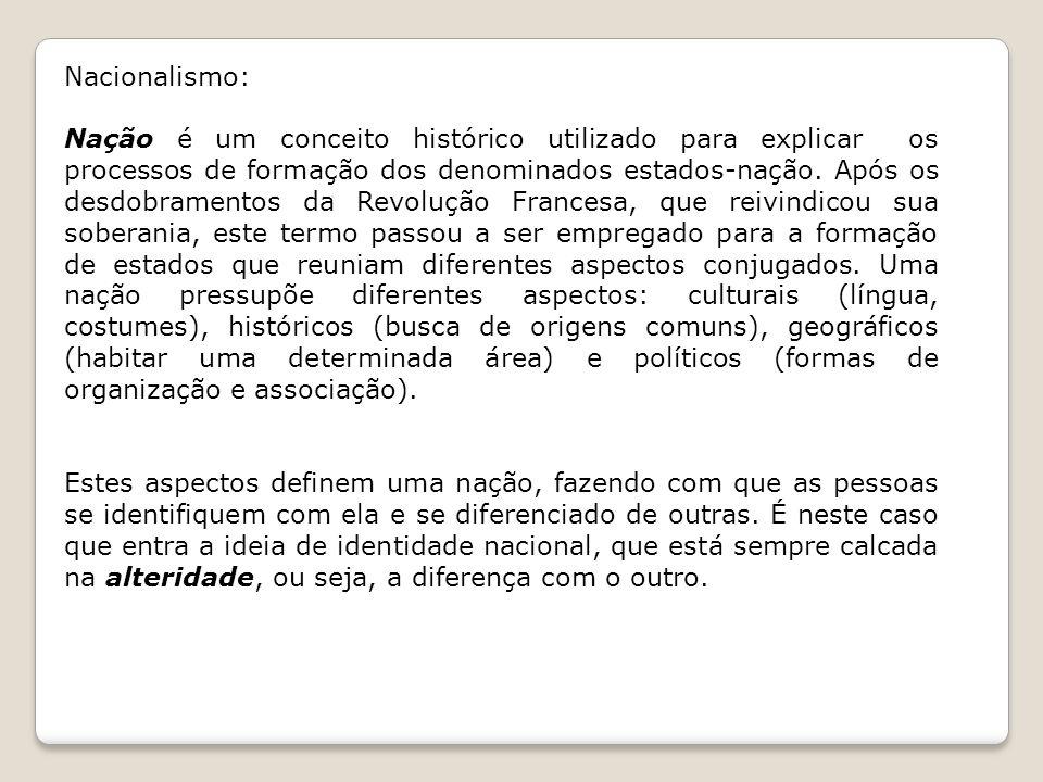Nacionalismo: