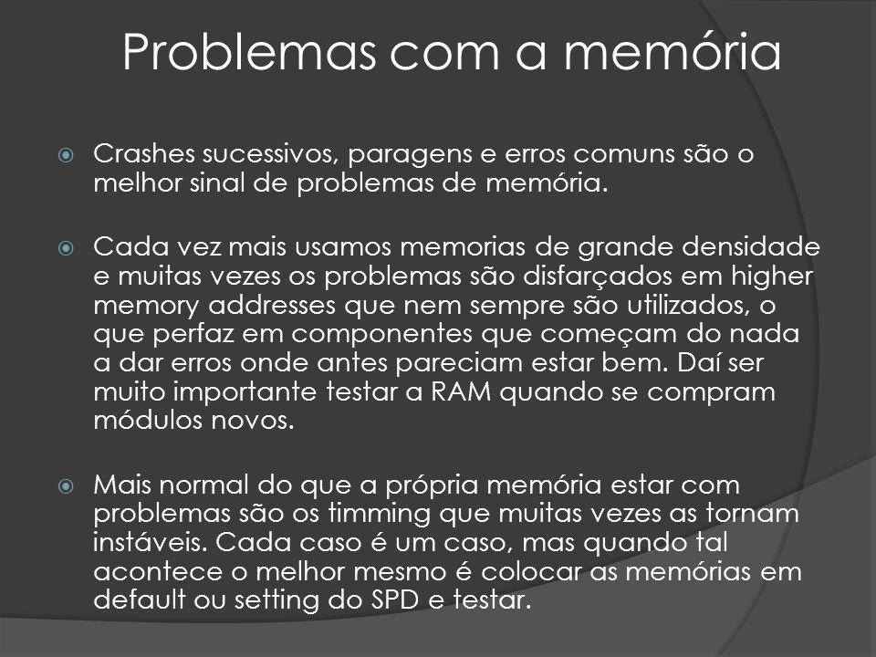Problemas com a memória