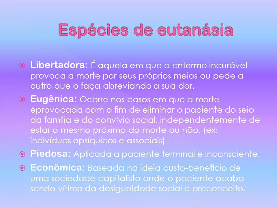 Espécies de eutanásia