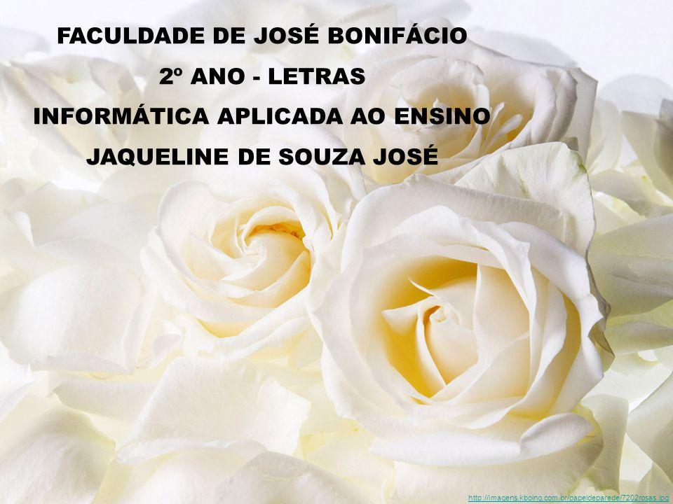 FACULDADE DE JOSÉ BONIFÁCIO 2º ANO - LETRAS