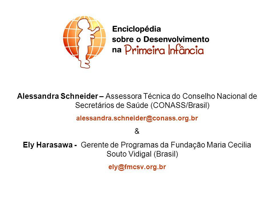 Alessandra Schneider – Assessora Técnica do Conselho Nacional de Secretários de Saúde (CONASS/Brasil)