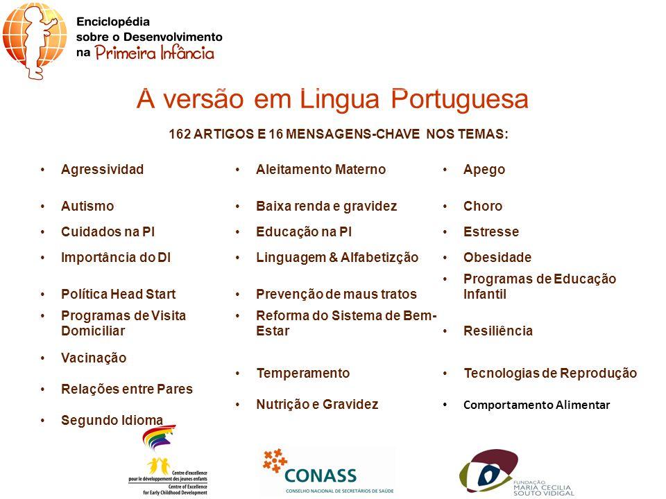 A versão em Lingua Portuguesa