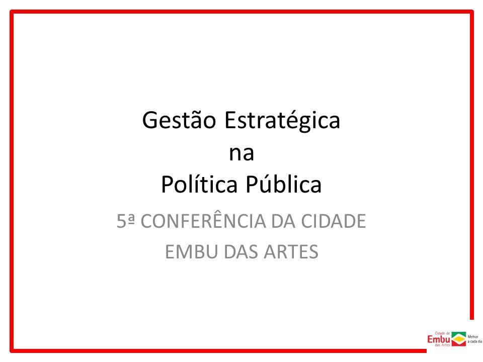 Gestão Estratégica na Política Pública
