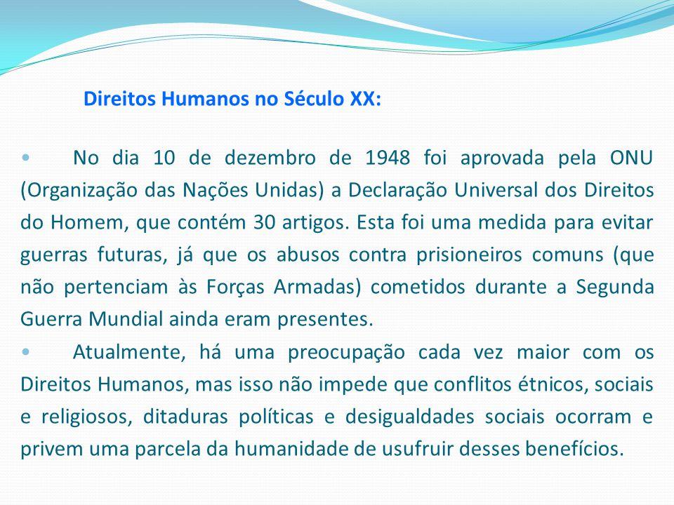 Direitos Humanos no Século XX: