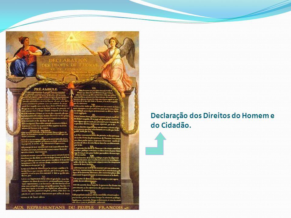 Declaração dos Direitos do Homem e do Cidadão.