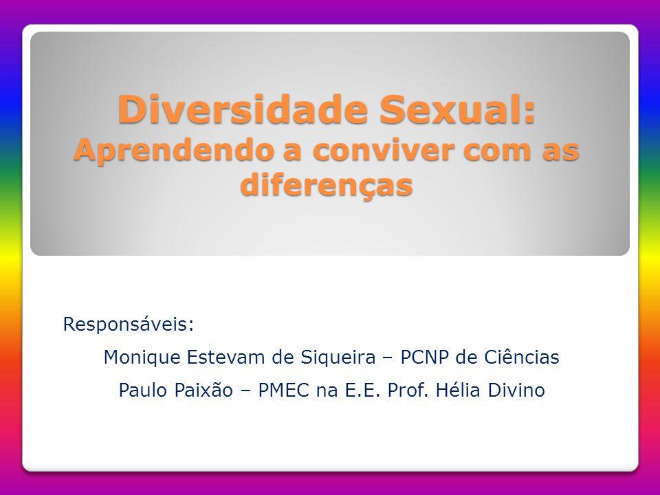 Diversidade Sexual: Aprendendo a conviver com as diferenças