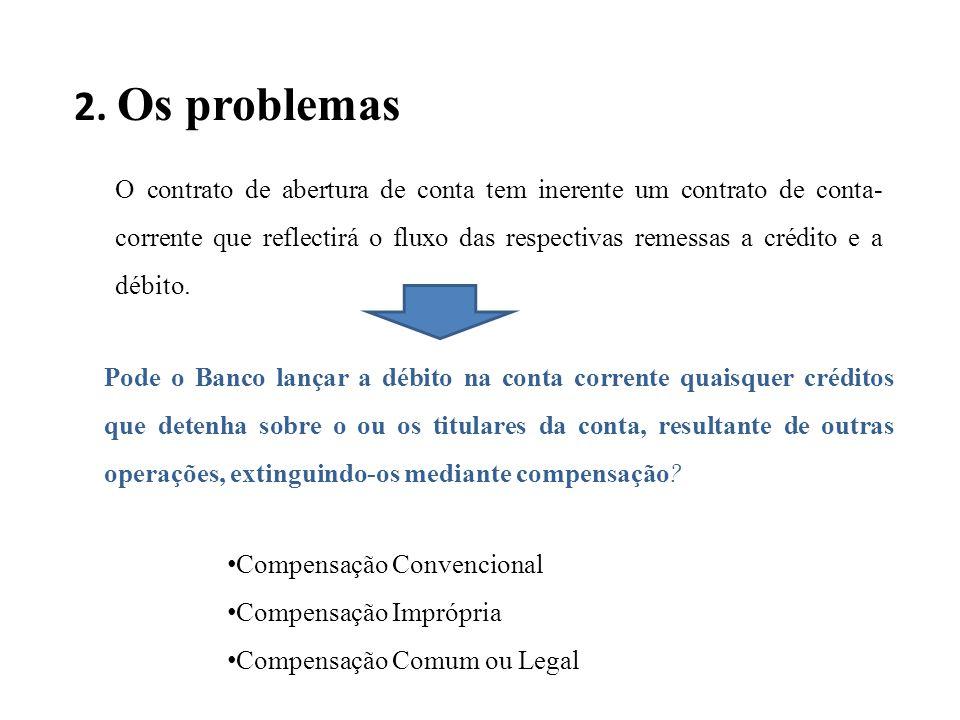 2. Os problemas