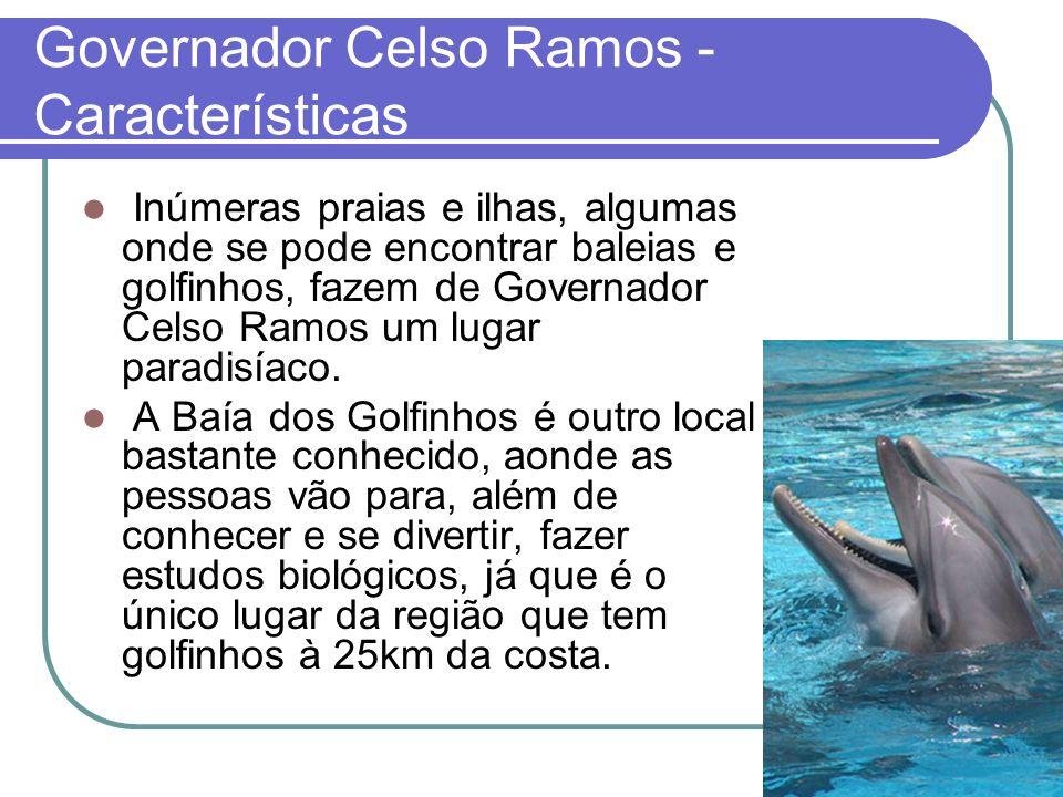 Governador Celso Ramos - Características