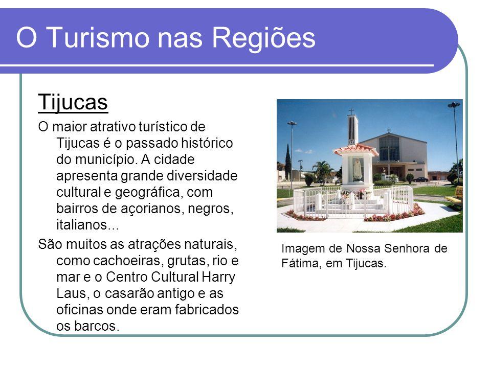 O Turismo nas Regiões Tijucas