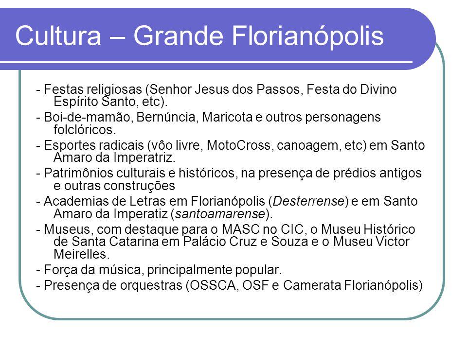 Cultura – Grande Florianópolis