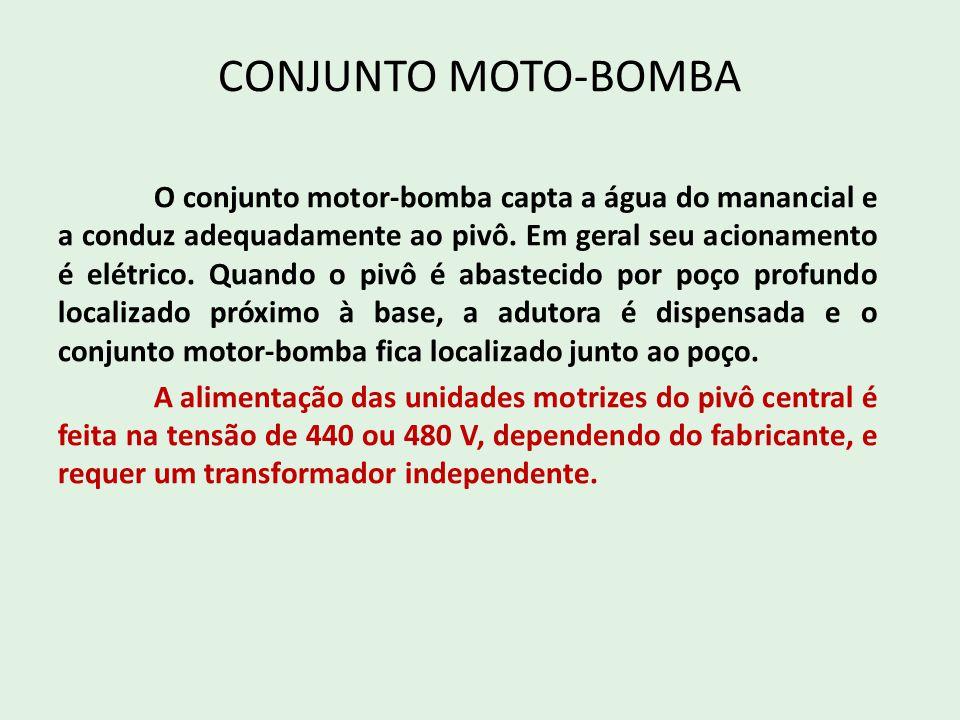 CONJUNTO MOTO-BOMBA