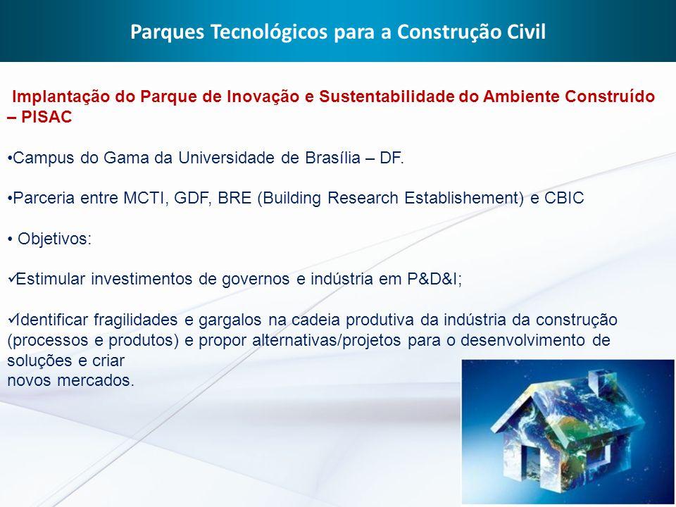 Parques Tecnológicos para a Construção Civil