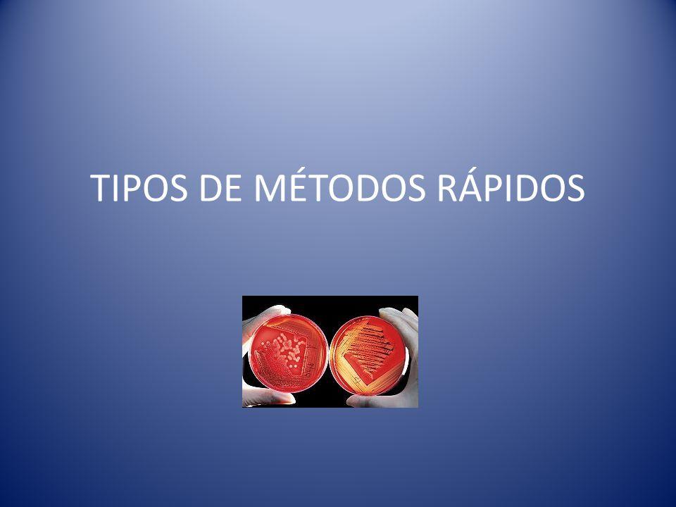 TIPOS DE MÉTODOS RÁPIDOS