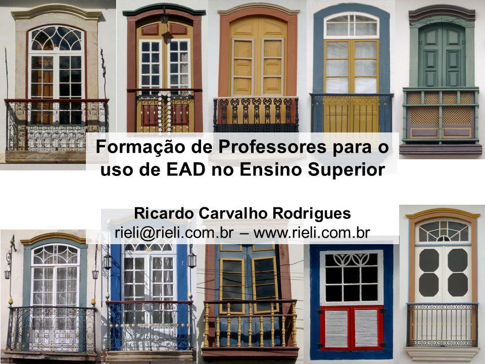Formação de Professores para o uso de EAD no Ensino Superior