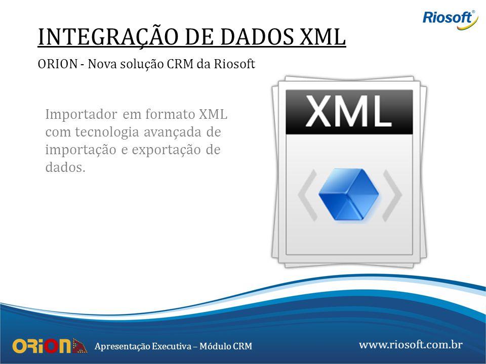 INTEGRAÇÃO DE DADOS XML